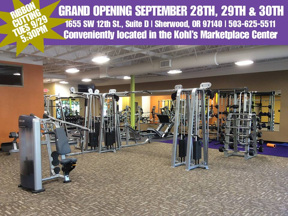 anytime fitness grand opening